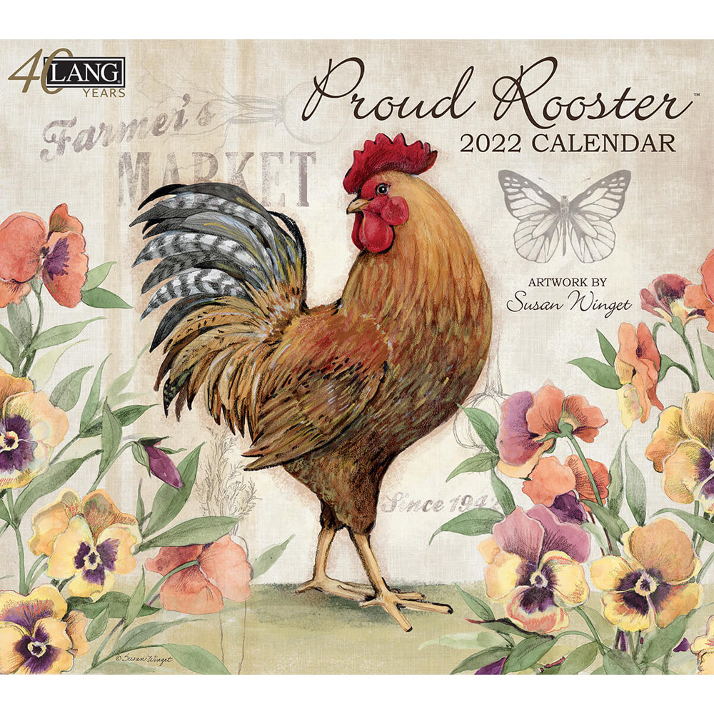 Kalender Proud Rooster