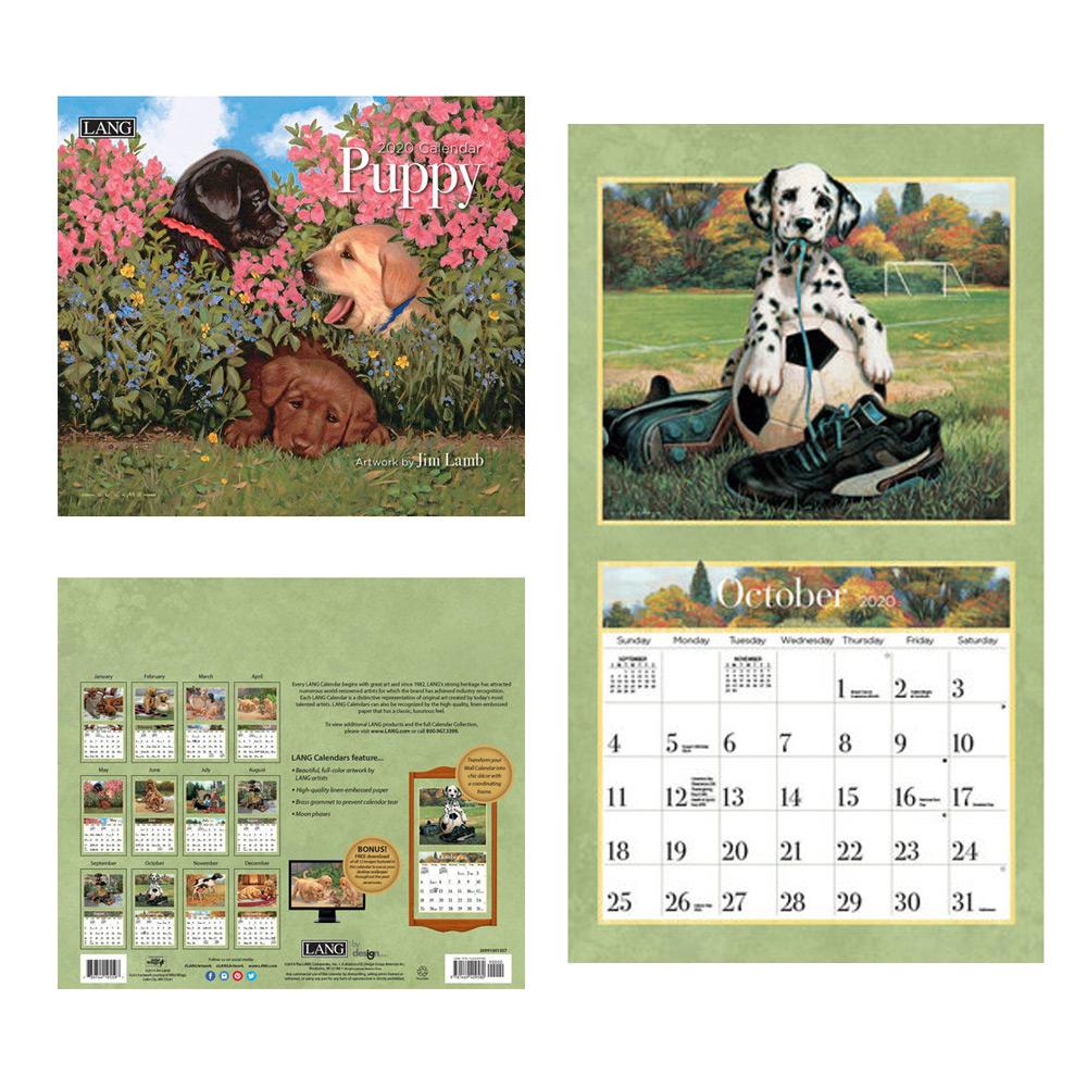 Kalender Puppy