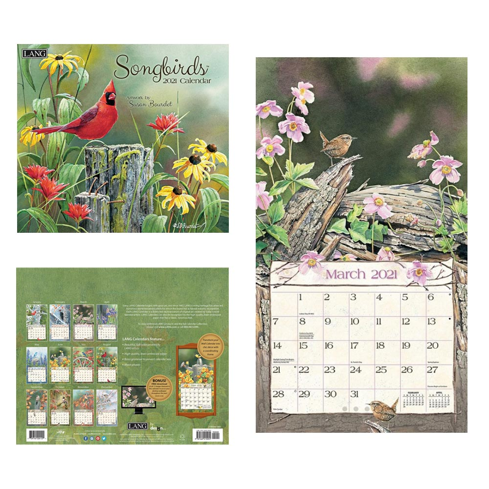 Kalender Songbirds