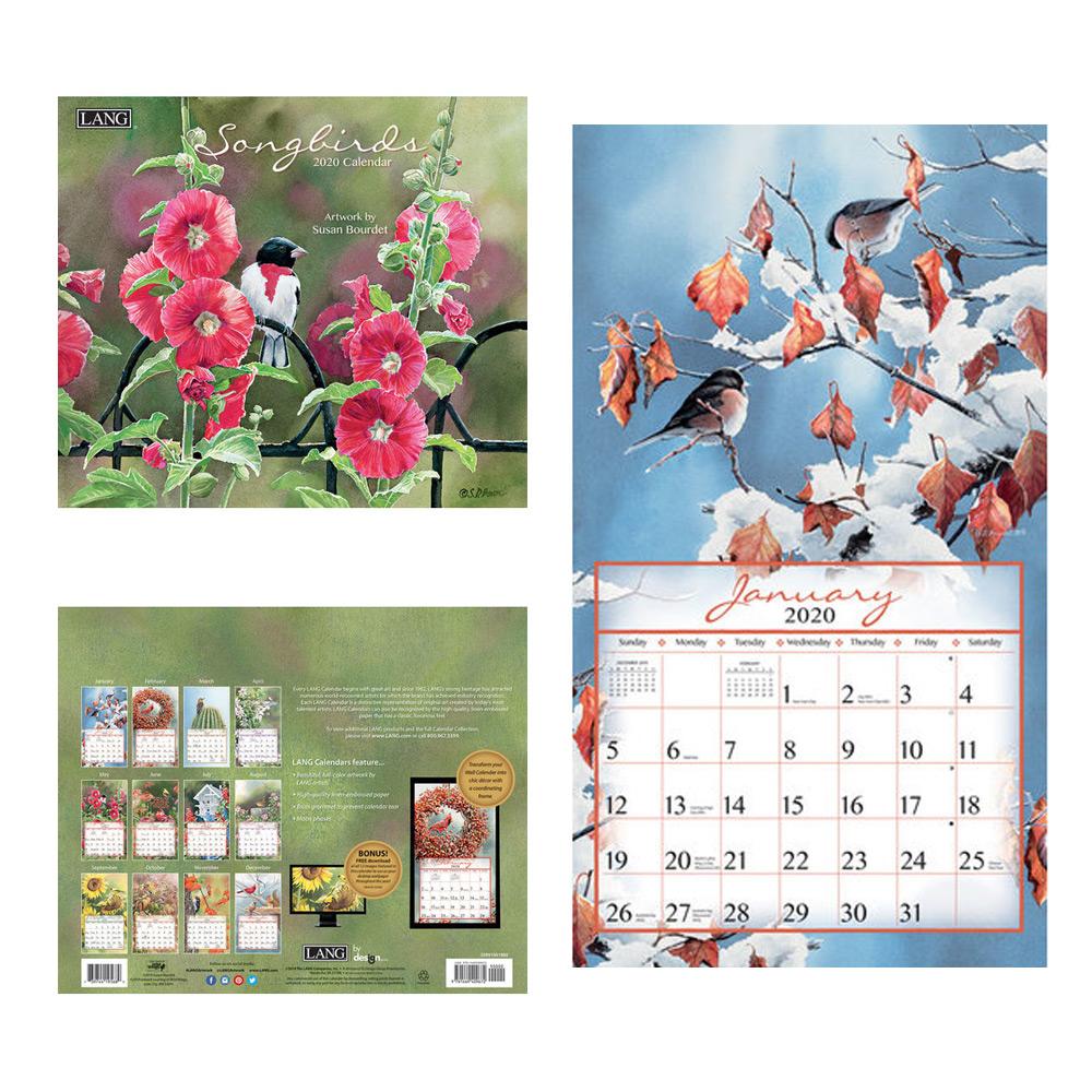 Kalender Songbirds