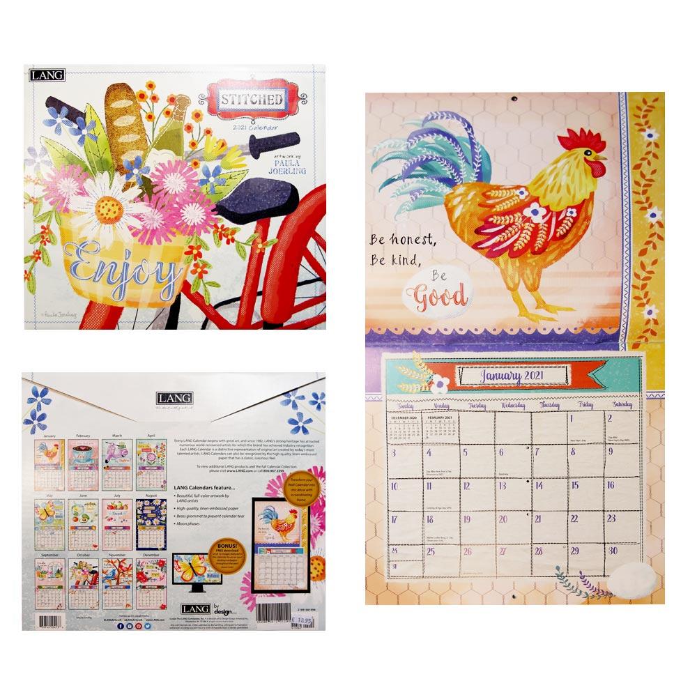 Kalender Stitched