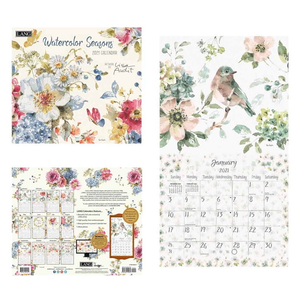 Kalender Watercolor Seasons