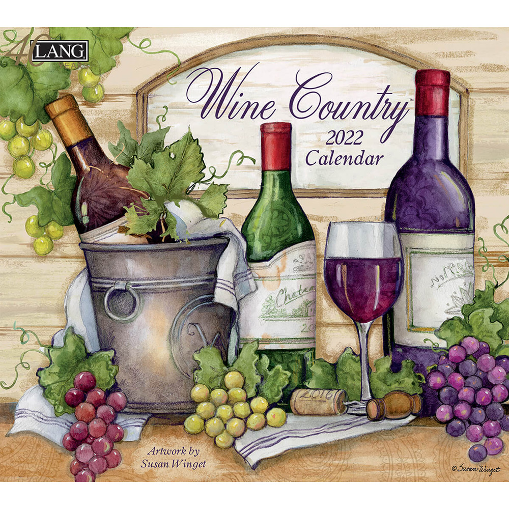 Kalender Wine Country