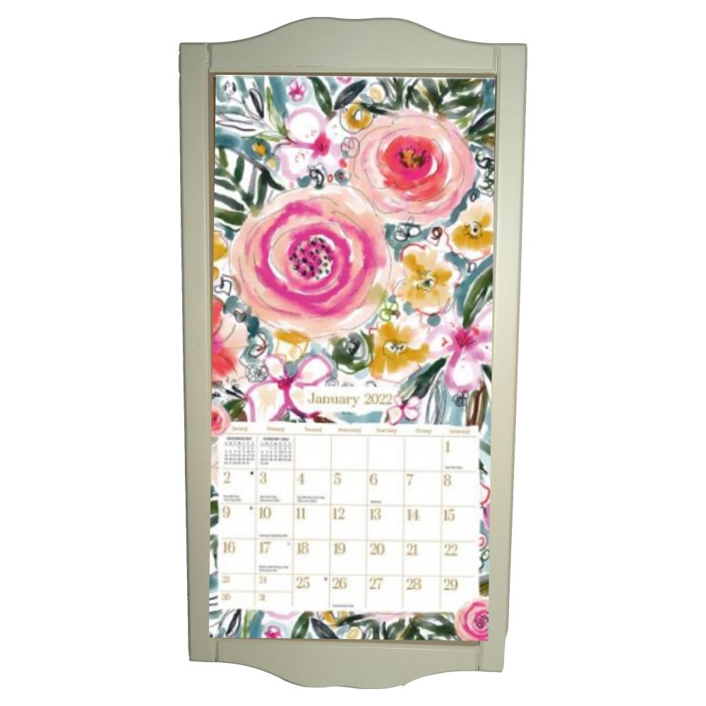 Kalenderlijst klein creme