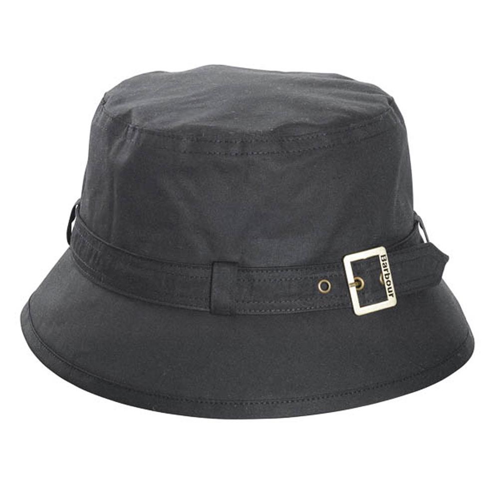 Kelso Wax Belted Zwart