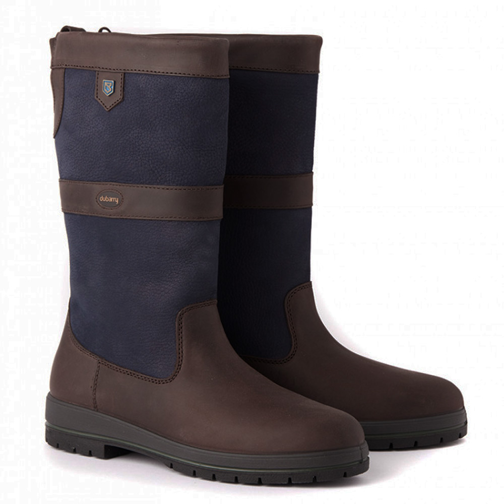 Kildare halfhoge outdoor laars navy/brown