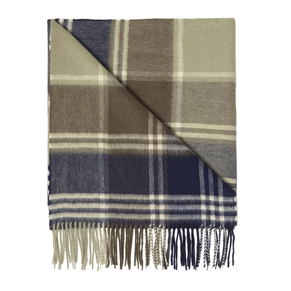 Kindar Check Scarf Olive
