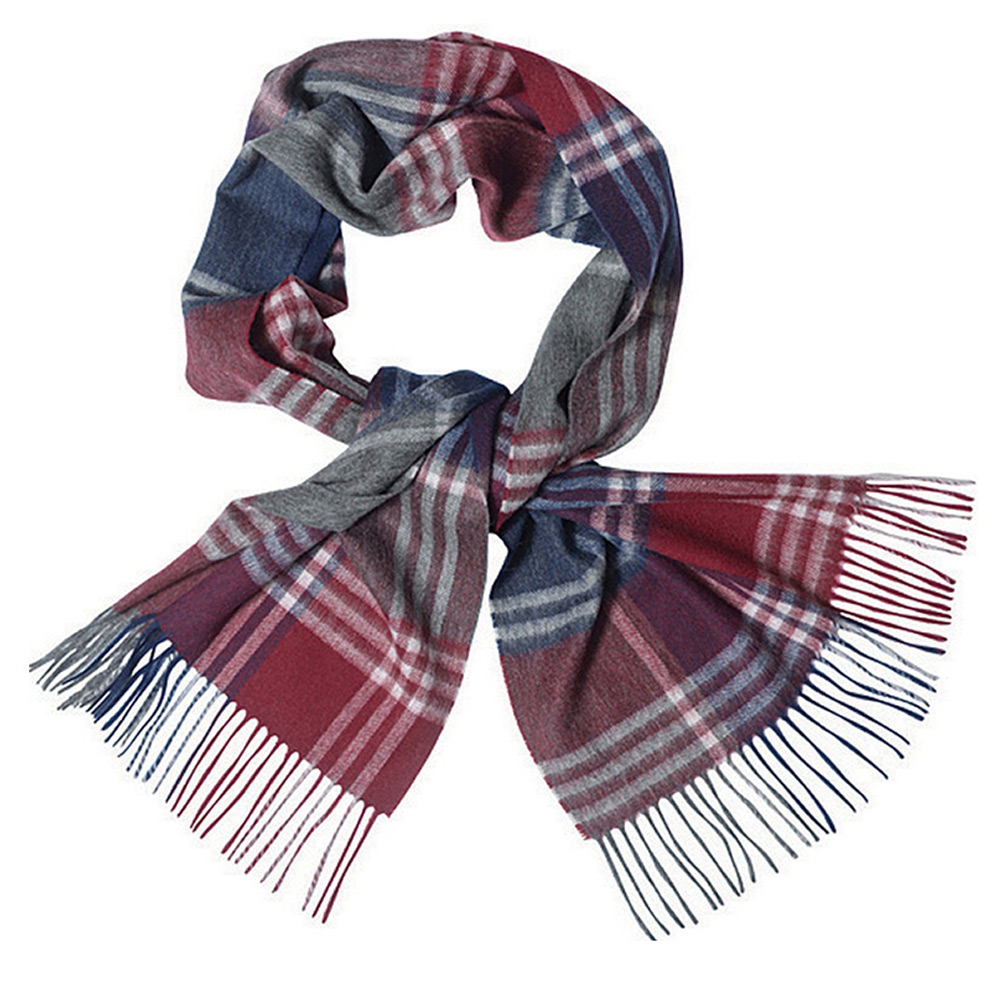Kindar Check Scarf Rood