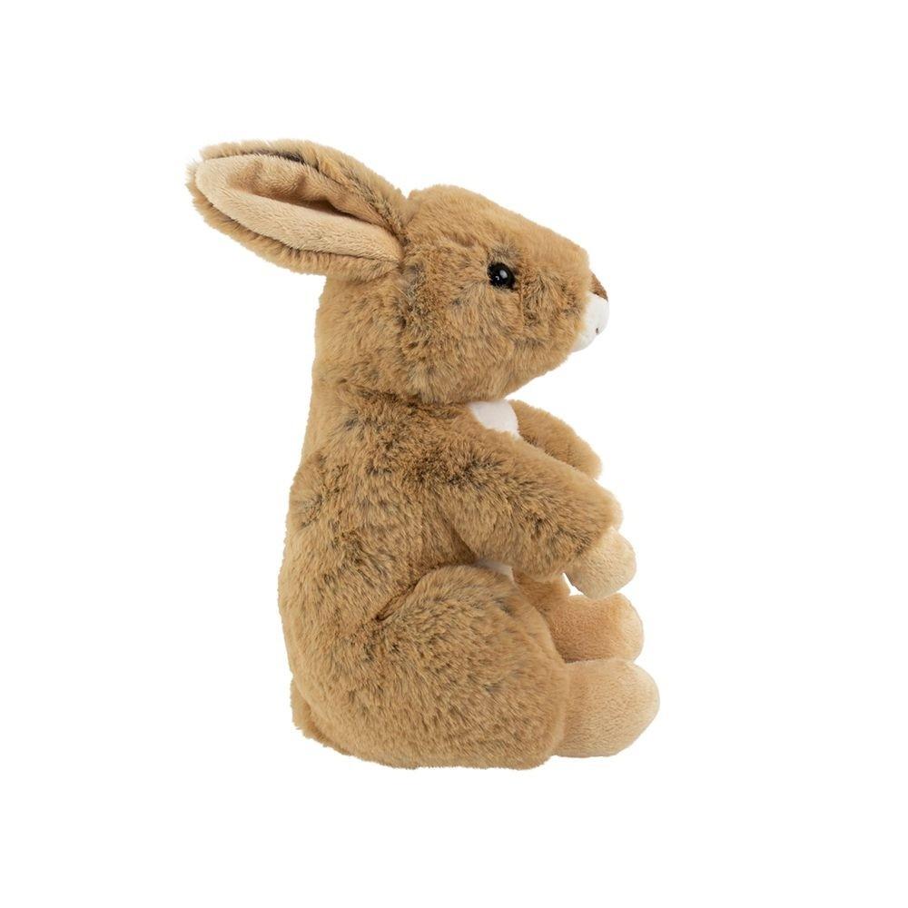 Knuffel konijn bruin zittend