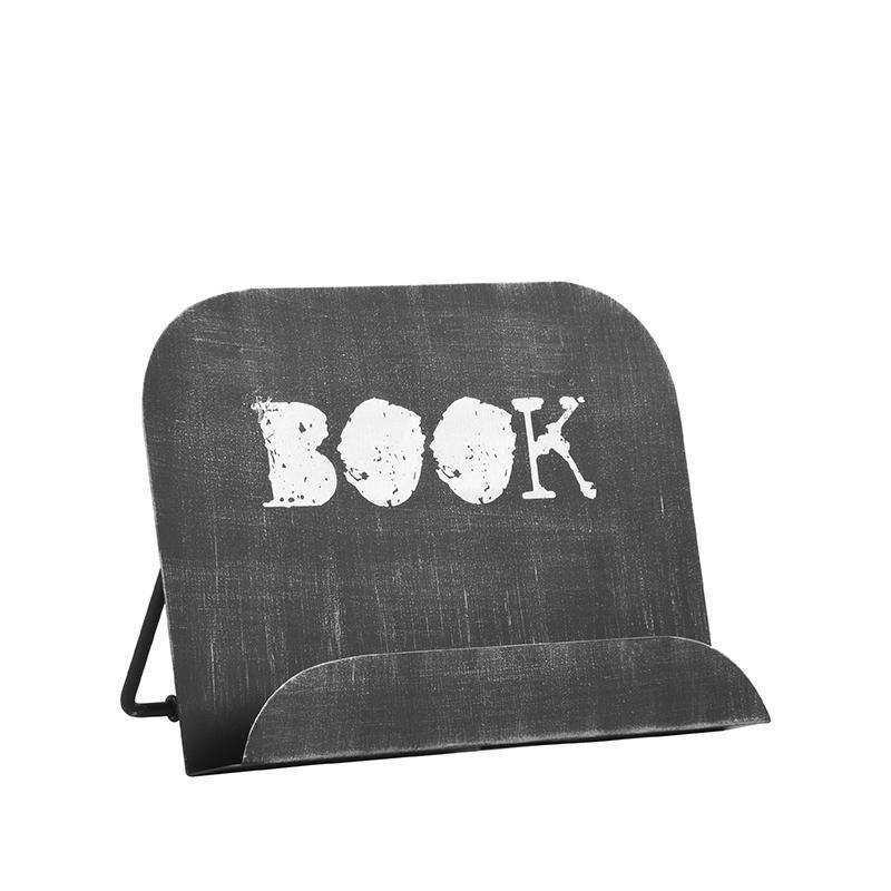 Kookboekstandaard - Zwart - Metaal