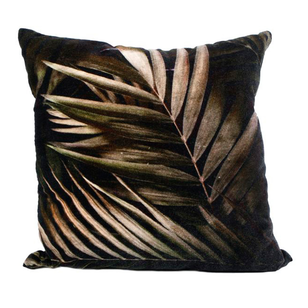 Kussen palmblad