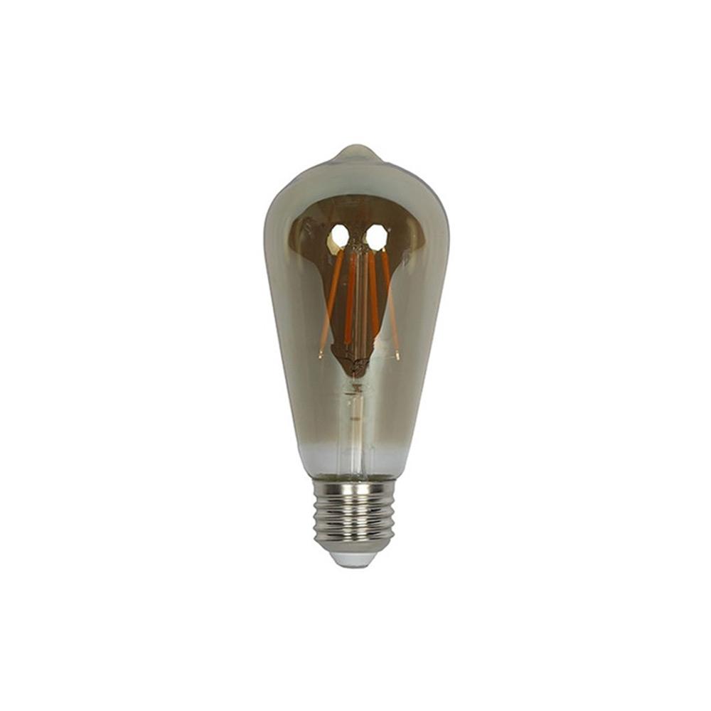 Lamp filament LED DIM Edison 2 grijs