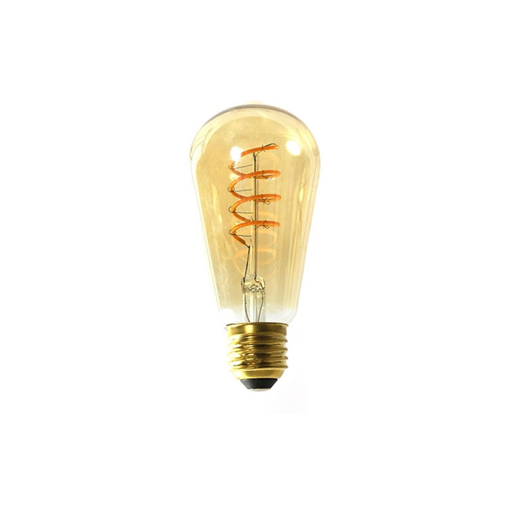 lamp filament LED DIM Edison goud