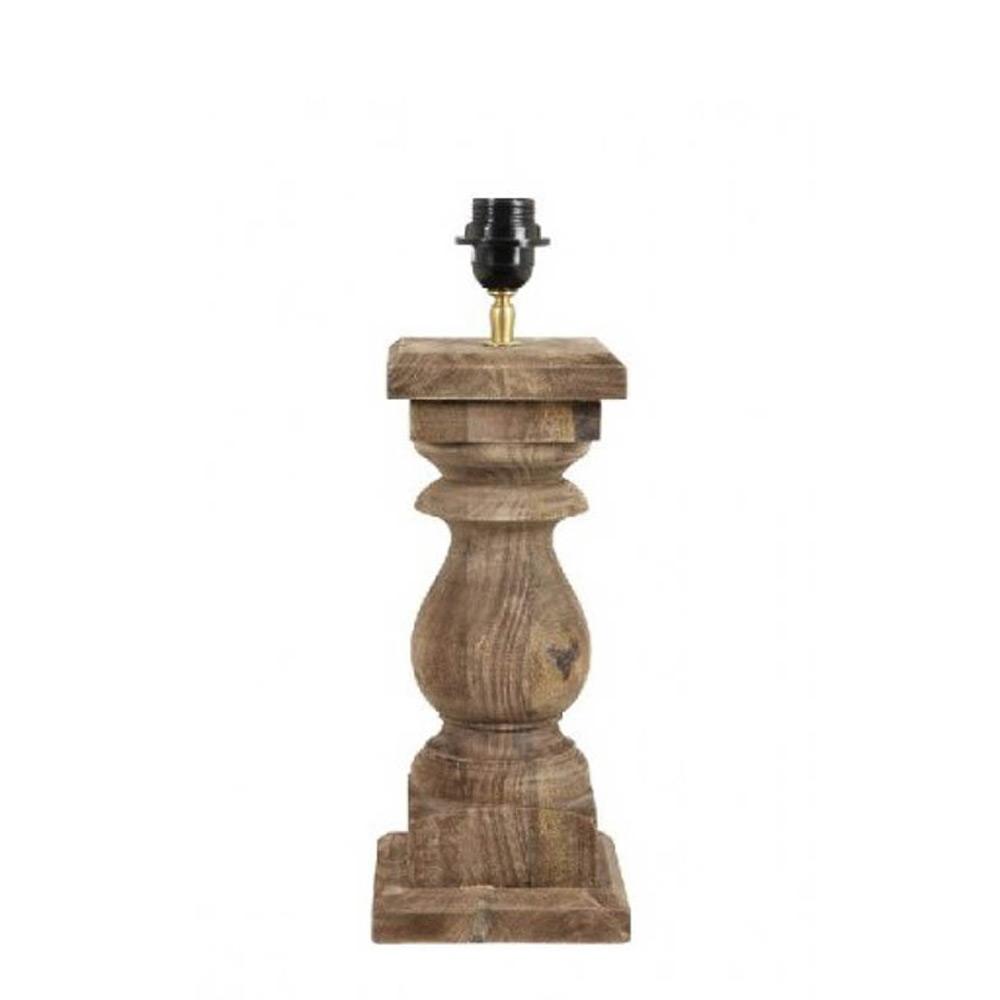 Tafellamp hout 35 cm