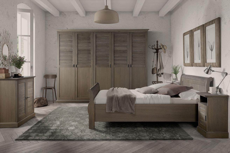 Landelijk klassieke slaapkamer