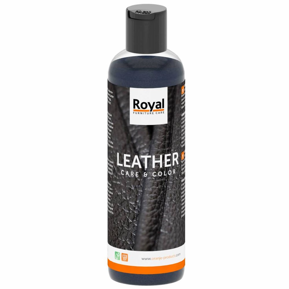 Leather Care & Color - zwart