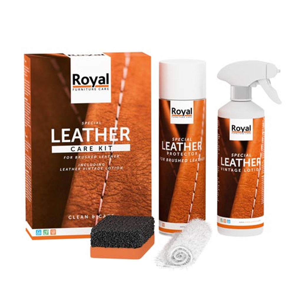Leather Care Kit Brushed