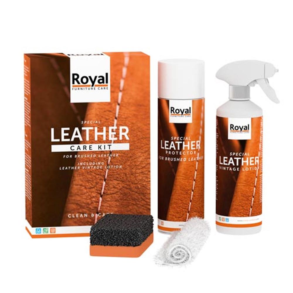 Leather Care Kit Brushed