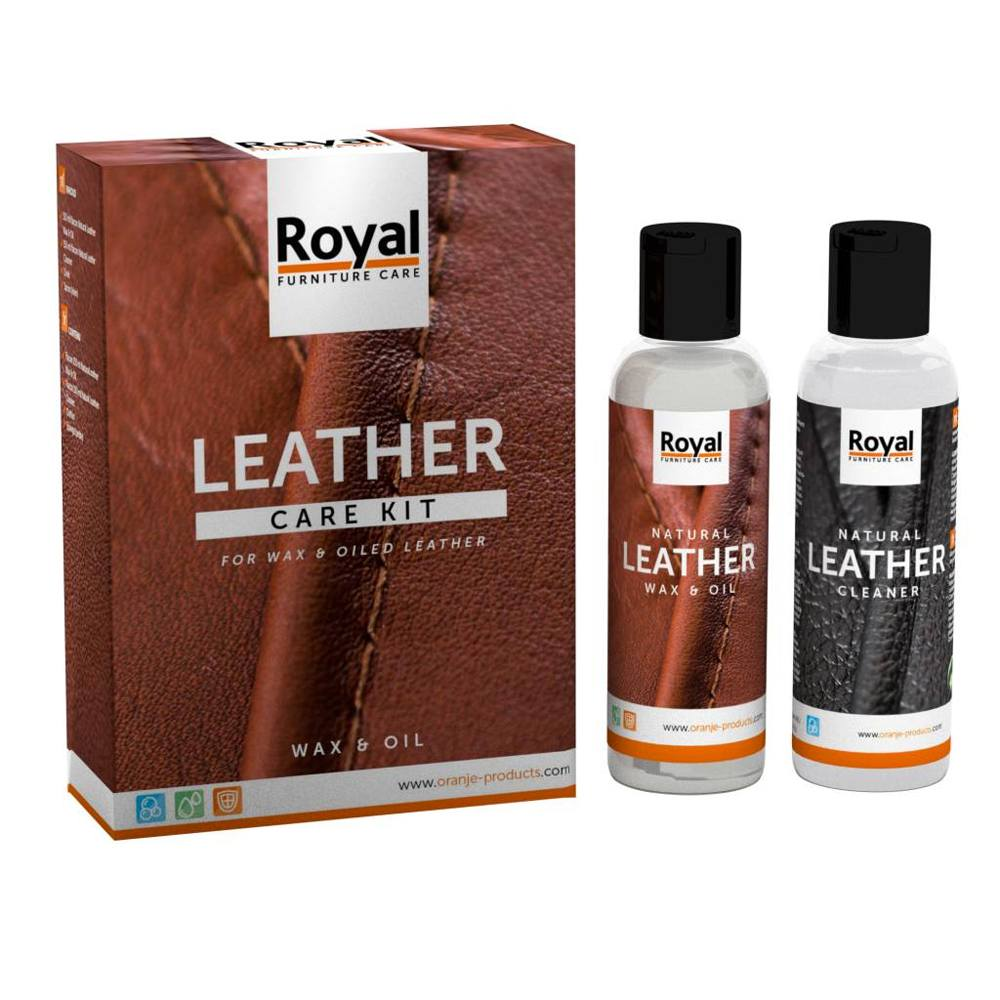 Leather Care Kit - Wax & Oil