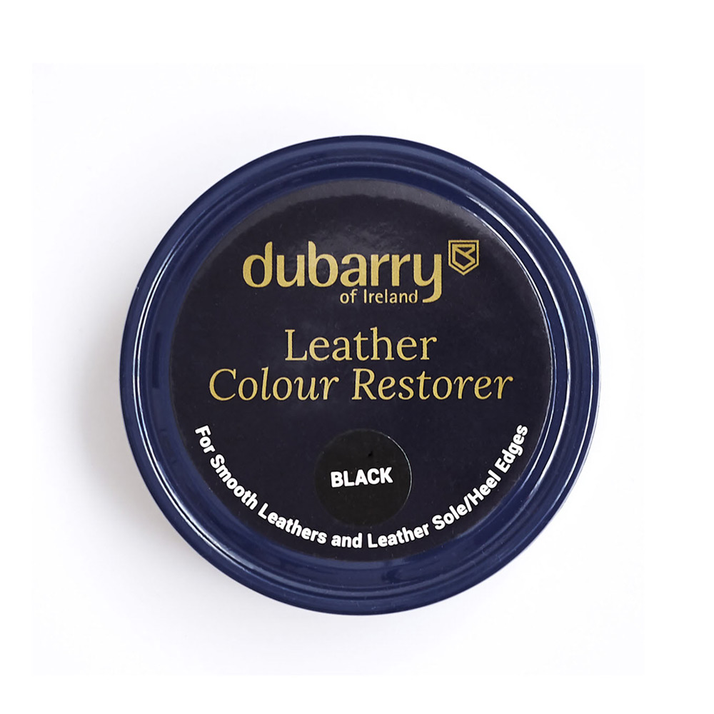 Leather colour restorer - zwart