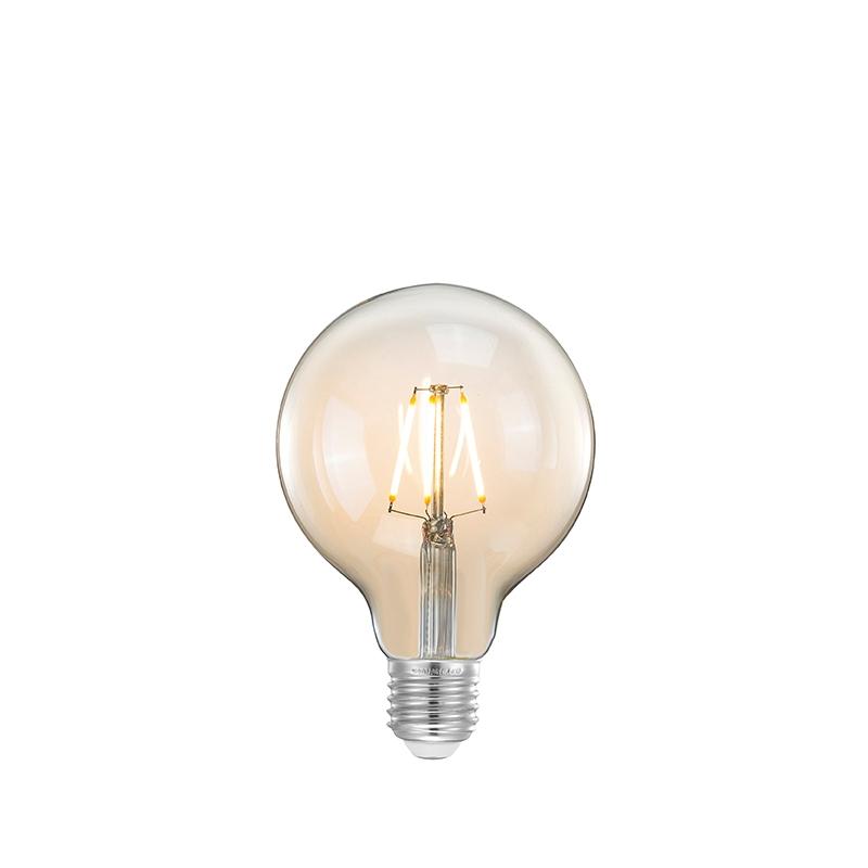 Lichtbron Led Kooldraadlamp Bol - Glas - L