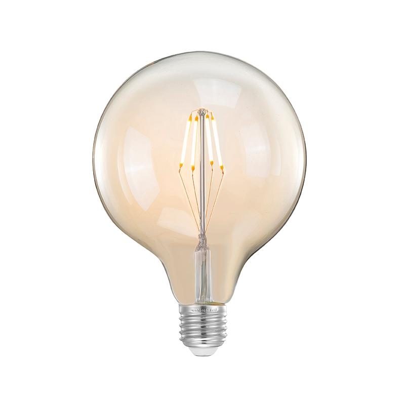 Lichtbron Led Kooldraadlamp Bol - Glas - XL