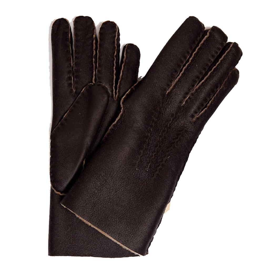 Lederen Handschoen Choco