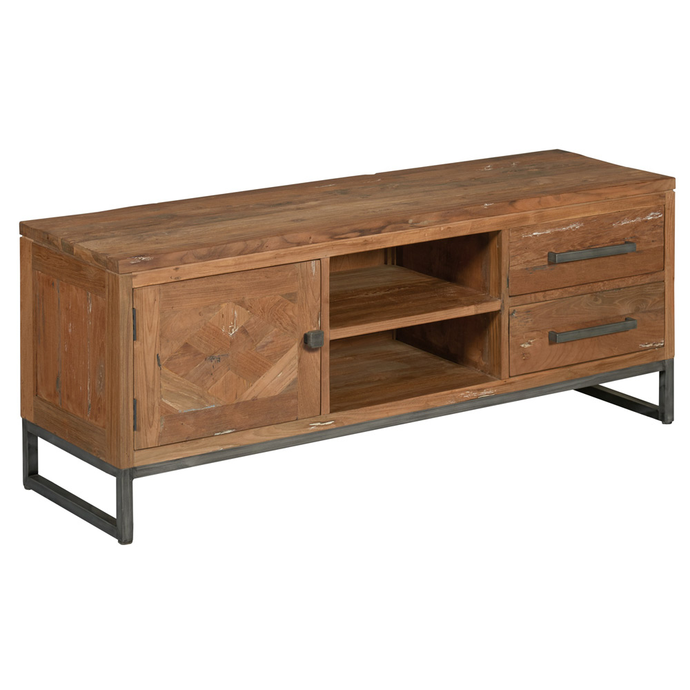 Mascio TV-dressoir 1 deur en 2 laden