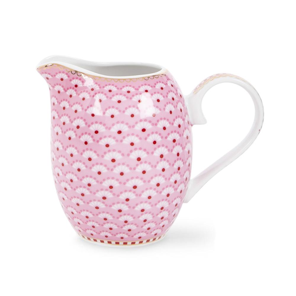 Melkkannetje Bloomingdale pink