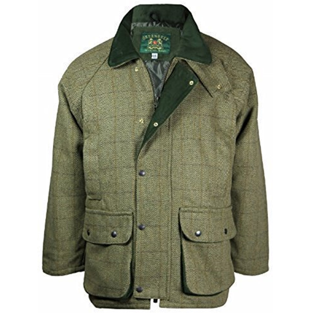 Mens tweed shooting jacket