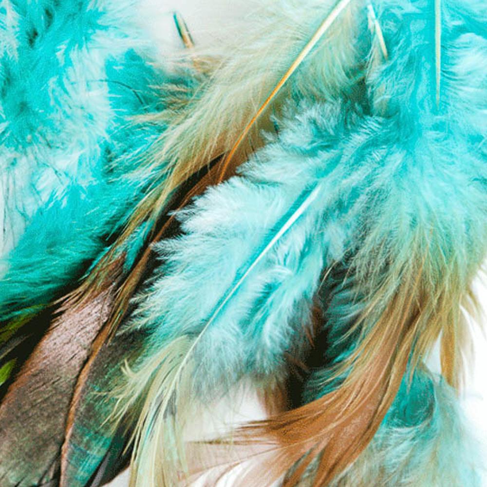 MondiArt Alu Feather 2 pastel 1041099