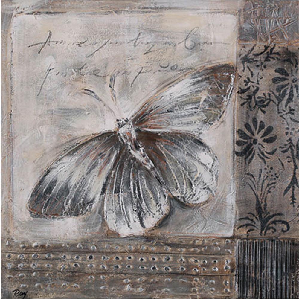 MondiArt Canvas Vlinder