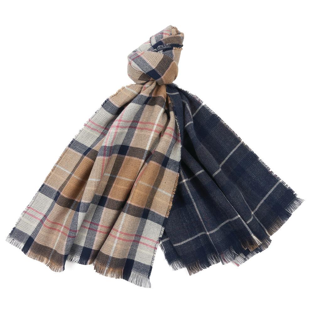 Montieth reversible tartan scarf