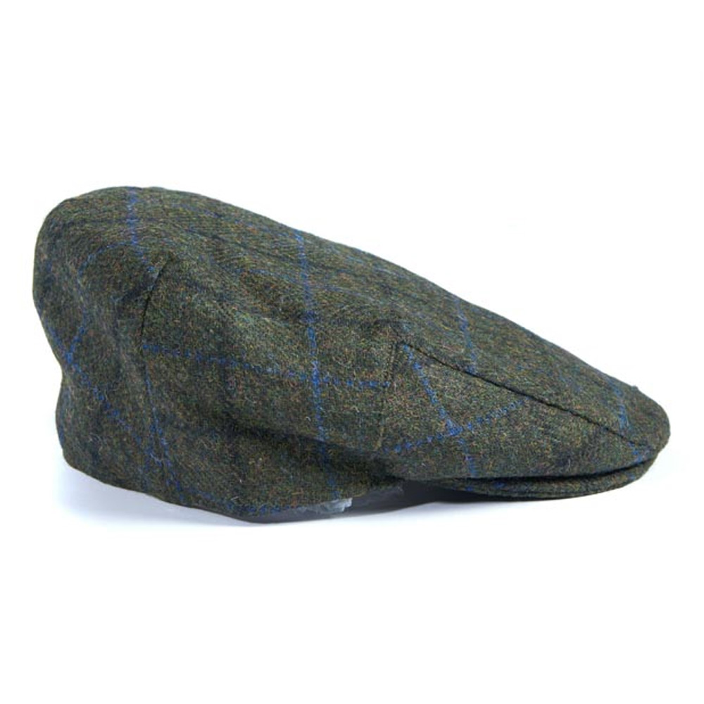 Moons Tweed Cap Groen