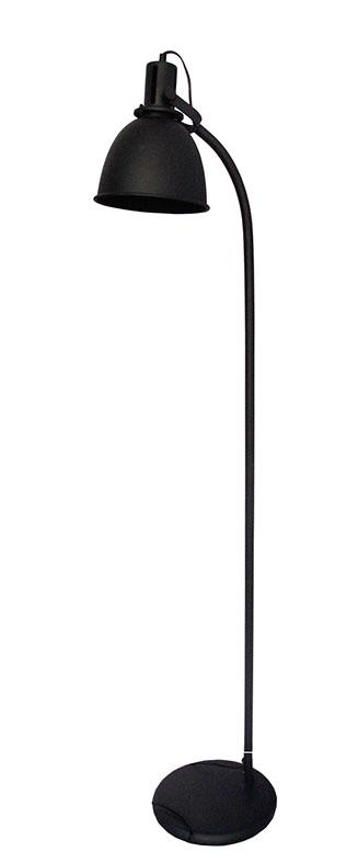 Vloerlamp Spot - Zwart - Metaal