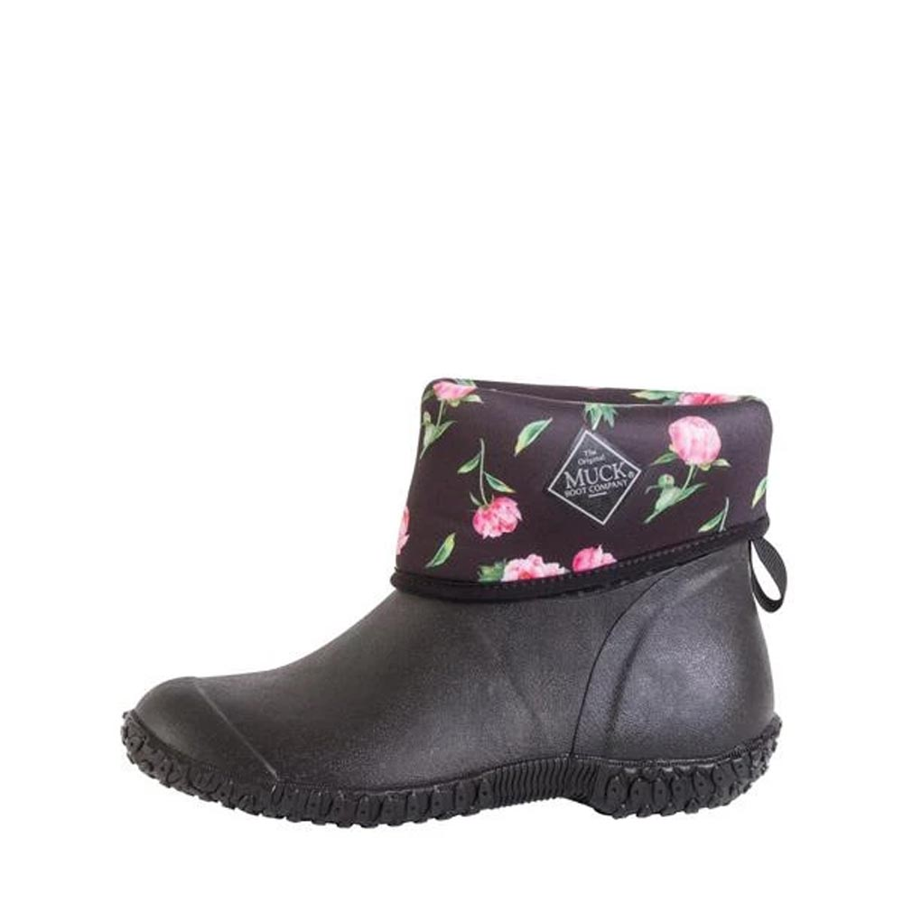 Muckster II Mid Woman black/rose print