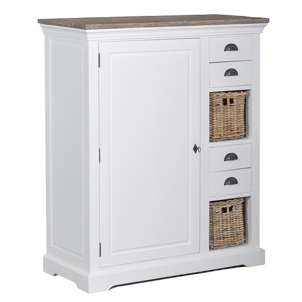 Napoli Cabinet 1 drs. - 4 drws.