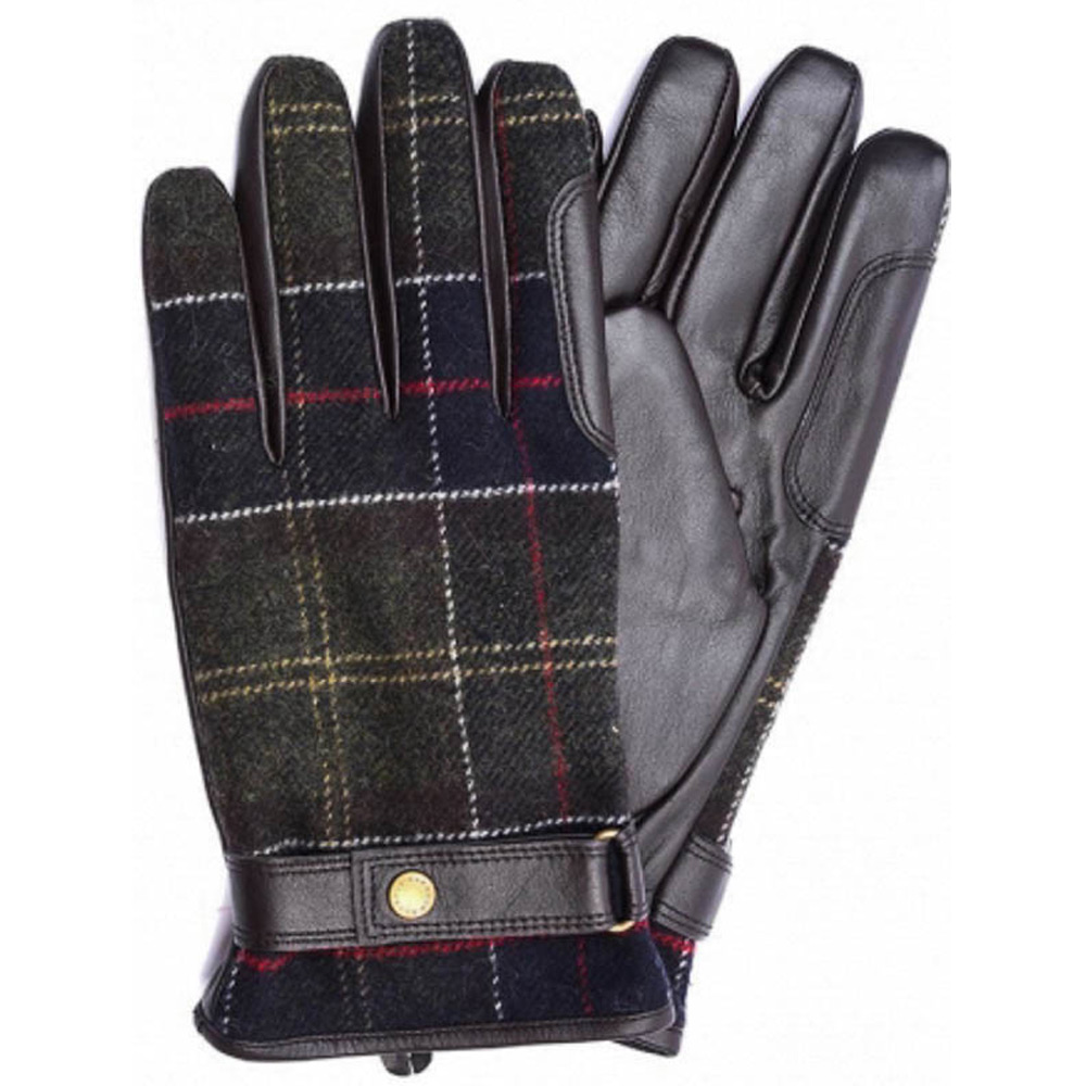 Newbrough Tartan handschoen heren