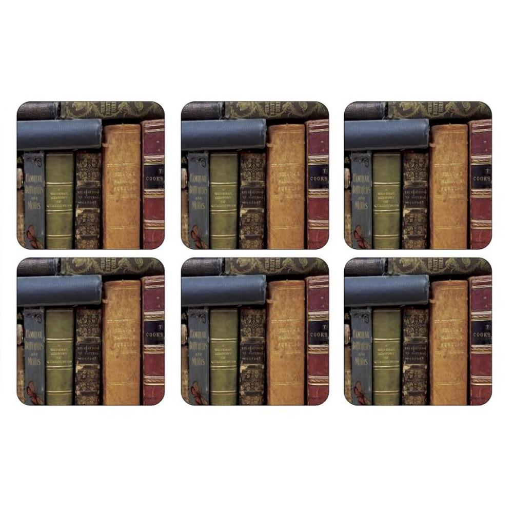 Onderzetter Archive books, set van 6