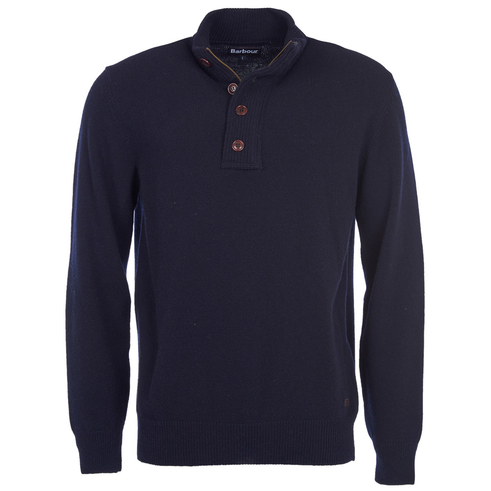 Patch Half Zip navy