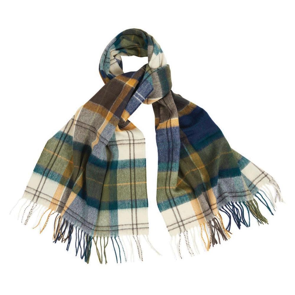 Patchwork Tartan scarf