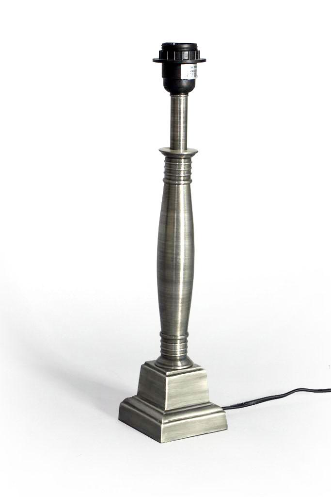 Lampvoet Turijn tin antiek S