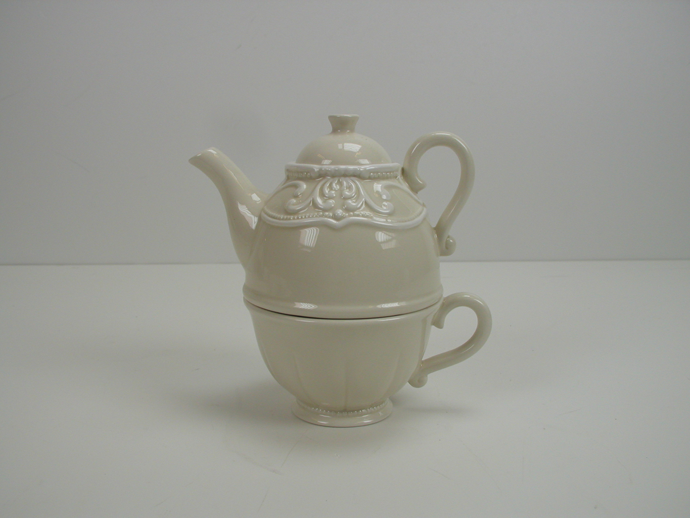 Tea for One, Pot & Cup