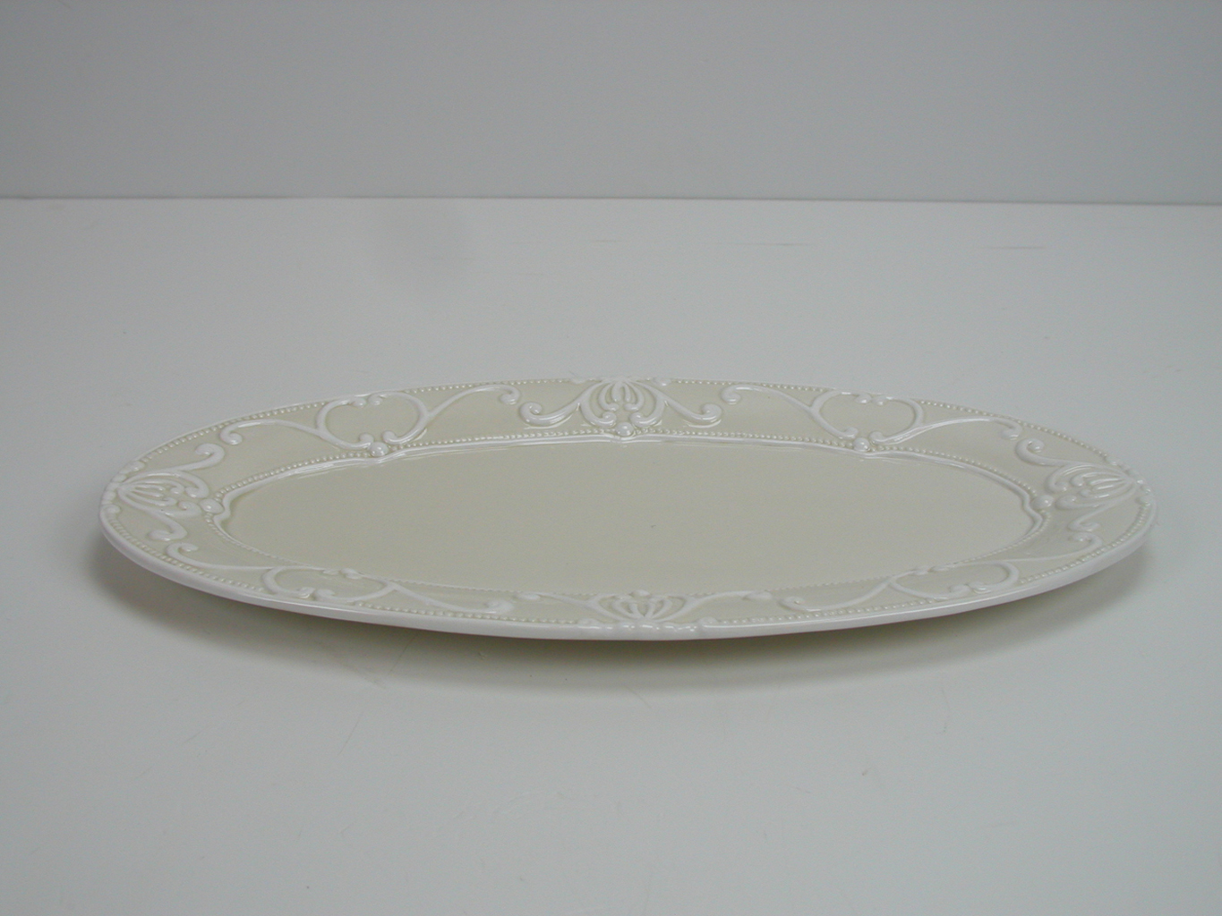 Plate oval Small