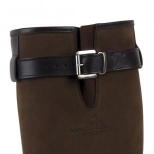 Herenlaars Xscape Choc leather