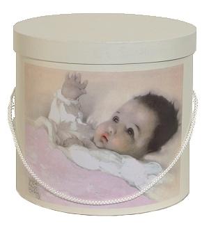 Hoedendoos Baby Roze