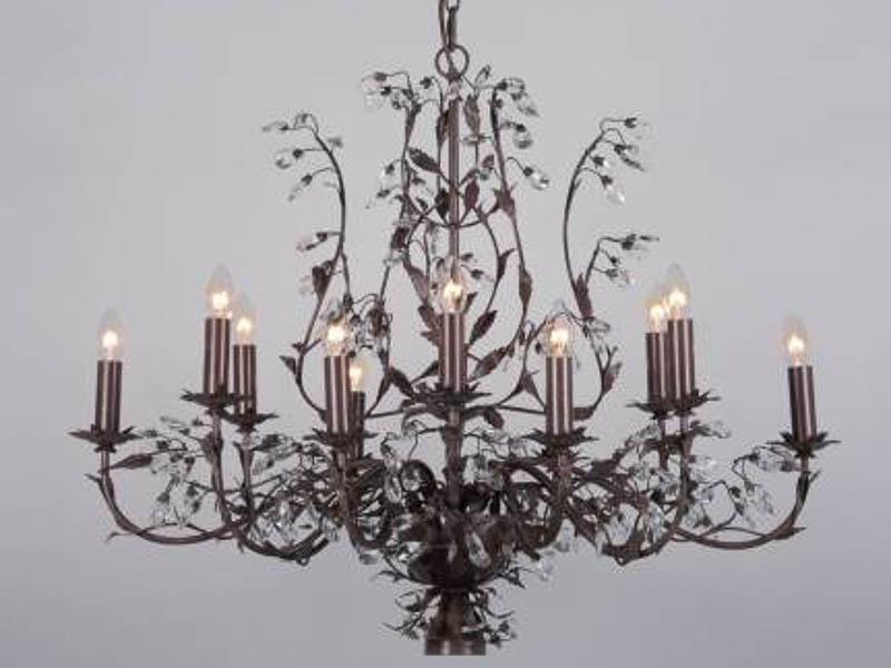 Elegance Ovaal Rustiek 12 lichts