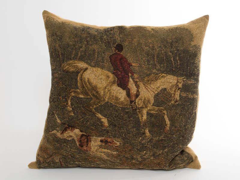 Kussen Paard en Ruiter