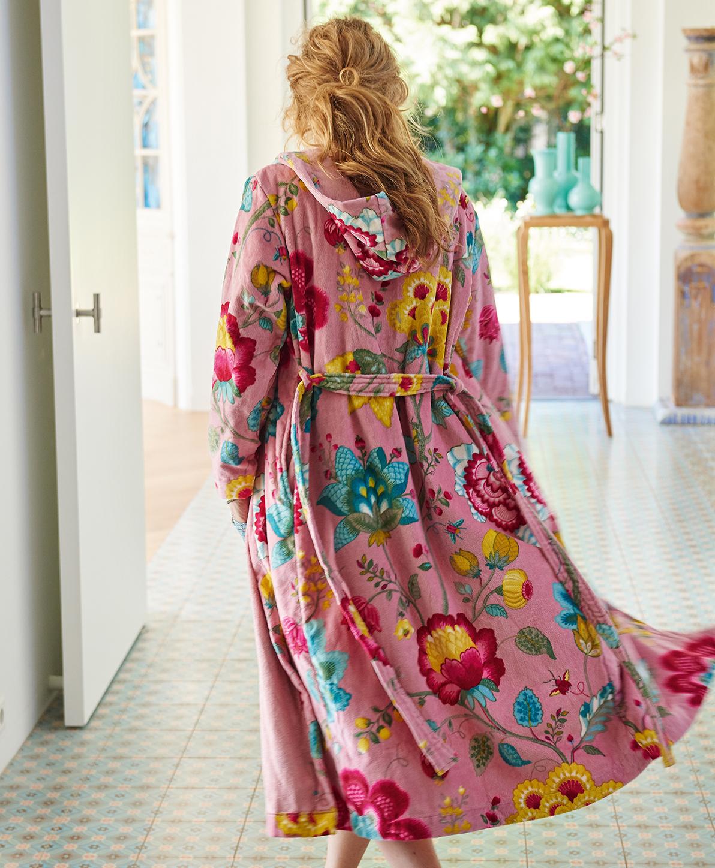 Badjas Floral fantasy Pink