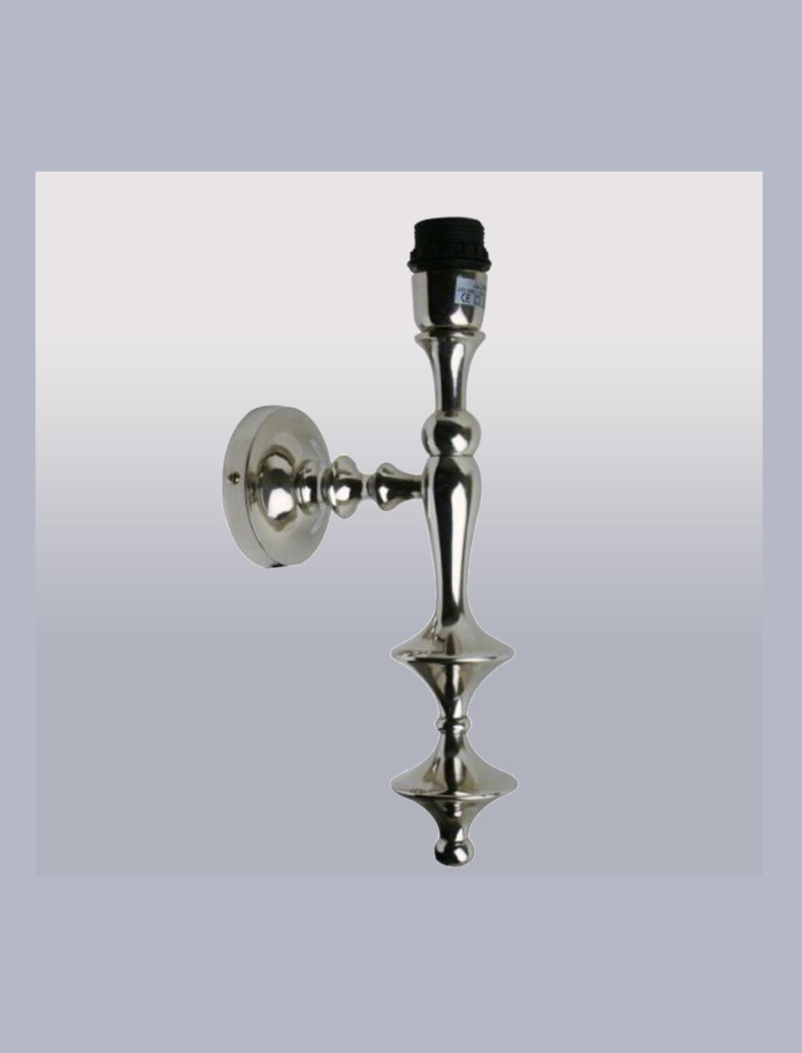 wandlamp Eva rond, metaal